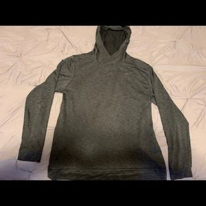 Nike hooded athletic pullover